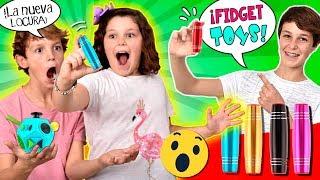 Download ¡El nuevo FIDGET de moda! 😱¡¡10+3 Trucos y RETOS con FIDGET STICKS!! ¿Cuántos tipos de FIDGET hay? Video
