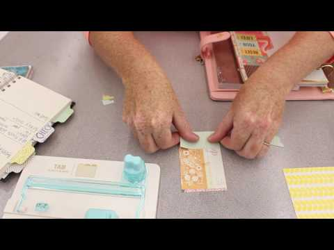Crankin' Out Crafts - ep533 We R Memory Keepers Tab Punch Board