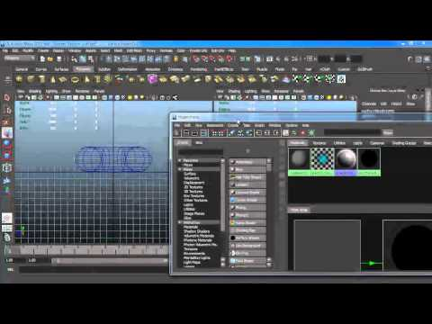 How to Render Wireframes in Maya using Mental Ray