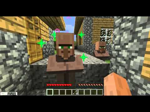 Minecraft tutorial - How to get melon seeds the easiest way!!