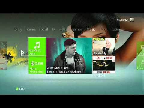Rihanna Xbox 360 Theme ( Free Download )