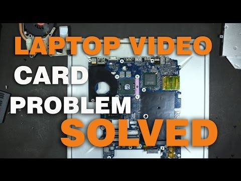 DIY: Fix Laptop dead motherboard video  by baking