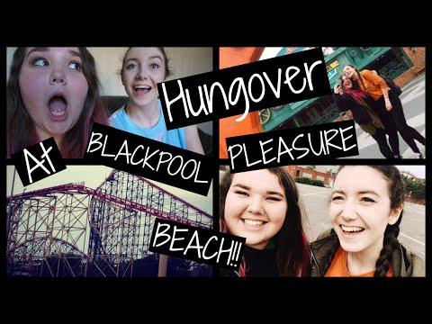 HUNGOVER AT BLACKPOOL PLEASURE BEACH!!