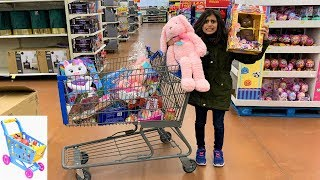 Kids Pretend Play Shopping at Toys store!! fun children video part 2