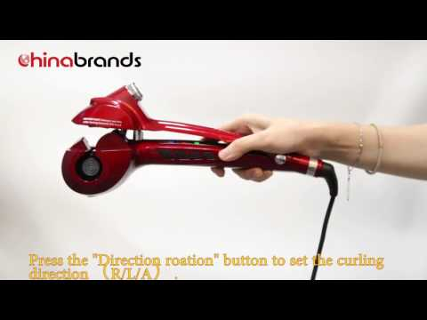 How to curl your hair in 1min   Steam Hair Curler Tutorial   Chinabrands