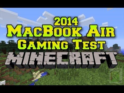 2014 Macbook Air Gaming Test: Minecraft