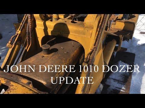 John Deere 1010 Dozer Update