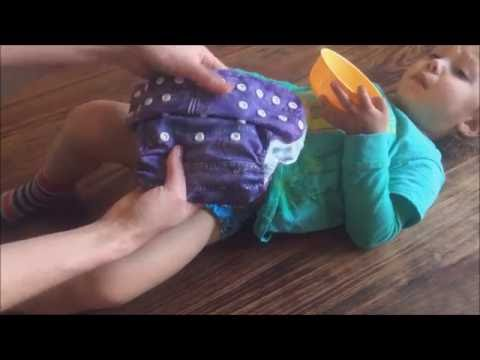 HOW TO -  Put on a cloth nappy