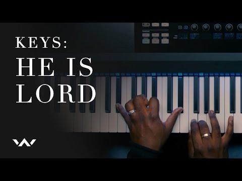 He Is Lord | Keys Tutorial | Elevation Worship