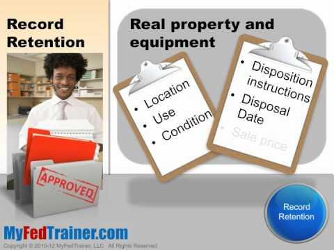 Grant Management Basics: Record Retention