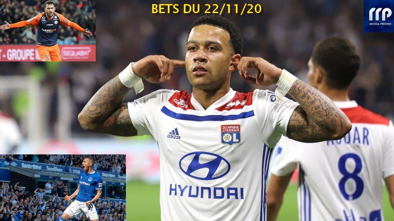 PRONOS FOOT DU 22 NOVEMBRE 2020 - LIGUE 1 - PREMIER LEAGUE - PARIS SPORTIFS !!!!!