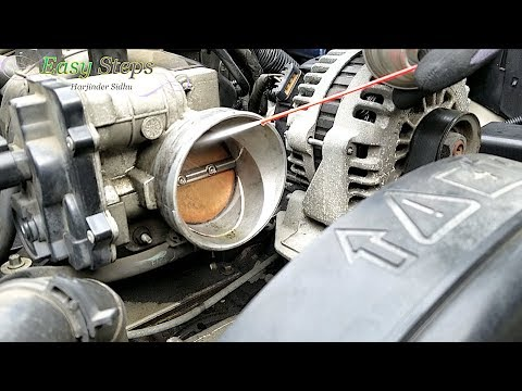 How To Clean Throttle Body and Air-Intake Cleaner on Hummer