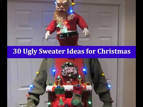 DIY Ugly Christmas Sweater Ideas you can make at home
