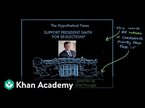 Citizens United v. Federal Election Commission | US Government & Politics | Khan Academy
