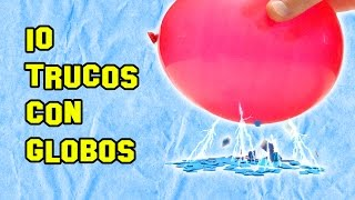 Download ✔ 10 Trucos Con Globos | Tricks With Balloons Video