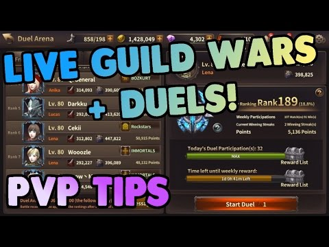 PVP Tips | LIVE Guild Wars + Duels! Lena Gameplay | HIT Heroes of Incredible Tales
