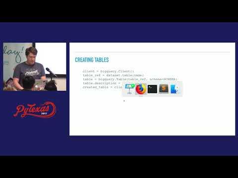 Jeff Kramer - Big Data with Python & Google BigQuery (PyTexas 2017)
