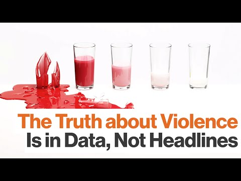 Steven Pinker: Violence Trends Are Understood by Analyzing Data, Not Reading Headlines