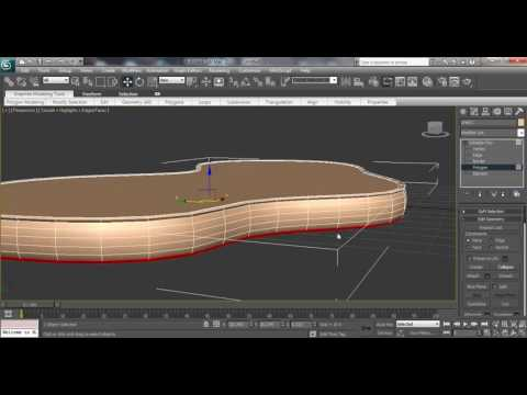 3ds max Architectural Coffee Table tutorial