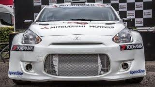 Mitsubishi Mirage R5 WRC 2015 - Prototype - Pure Sound - Shakedown [HD]