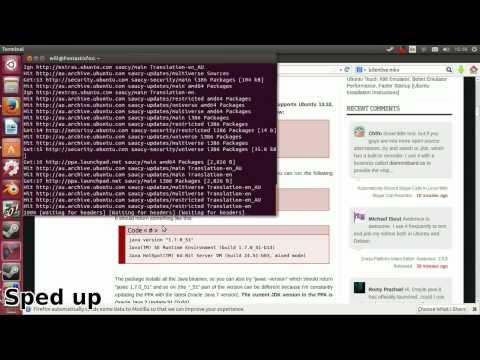 Installing Java 7 on Ubuntu