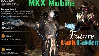 Update 1.6 Dark Raiden All special Attacks Mkx Android/IOS