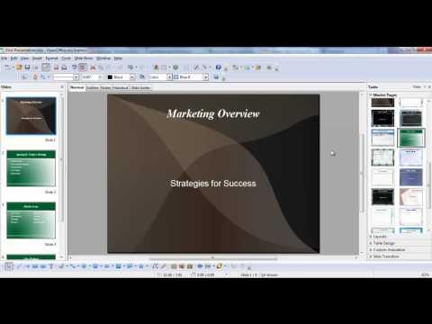 Impress: Formatting Slides and Placeholders