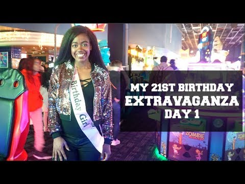 MY 21ST BIRTHDAY EXTRAVAGANZA || Day 1: Dave and Busters