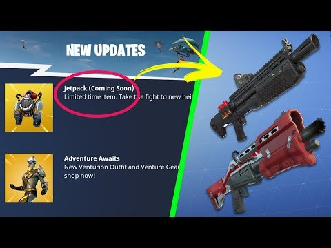 NEW LTM GameMode And Jetpacks OFFICIALLY CONFIRMED To Release In Fortnite Battle Royale!