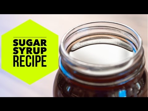 How To Make Simple Sugar Syrup for Bubble Tea and Boba Recipe by Bubble Tea Supply