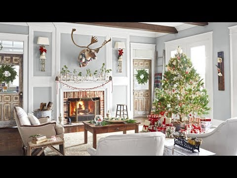 Christmas Decorating Home Tour   Christmas Decorating Ideas Home Tour Winter Wonderland