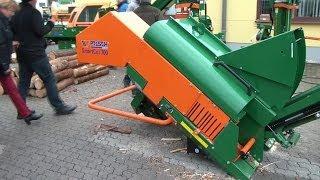 Posch Smart Cut 700 automatische Brennholzsäge mit Förderband, automatic firewood saw with conveyor