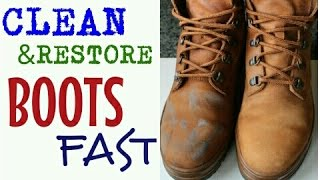 How To Clean Restore Boots Shoes Fast Diy For Timberlands Uggs More C