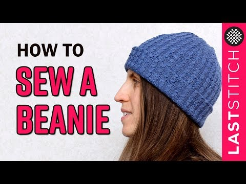 How to sew a beanie hat │ Quick DIY project