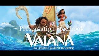 Présentation d'un steelbook: Vaiana ( FNAC)  :)