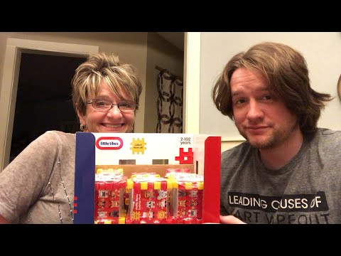 OPENING WAFFLE BLOCKS SURPRISE PACKS WITH CHAD