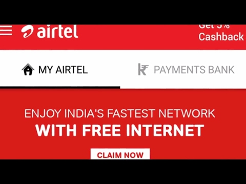 How to claim 30GB Free Airtel data for PostPaid customers (Hindi)