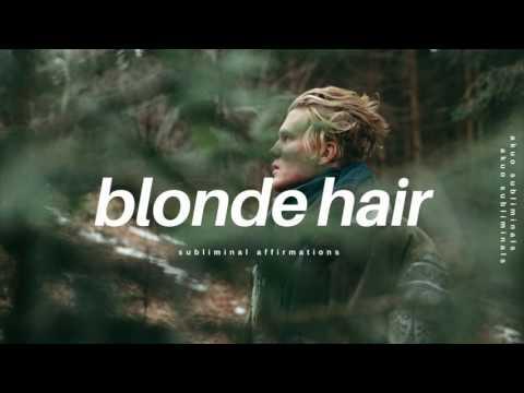 Golden Blonde Body & Facial Hair Subliminal