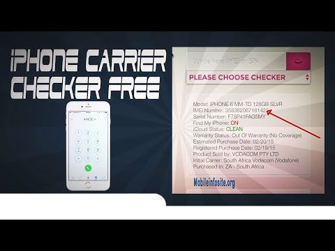 iphone carrier checker free