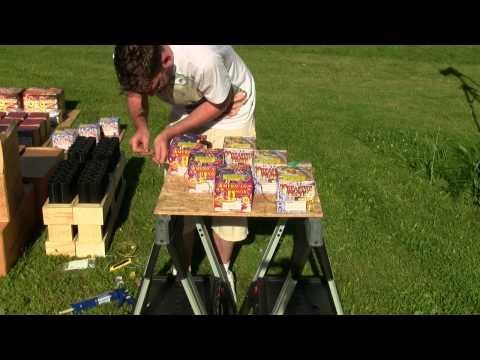 Making Firework Finale Boards