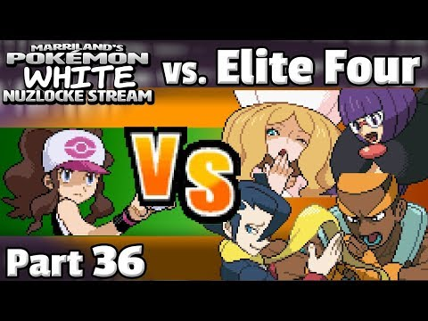 Pokémon White Nuzlocke Stream, Part 36 • VS. ELITE FOUR • May 19, 2018 • STREAM ARCHIVE