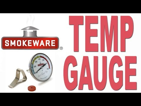 Smokeware's Temp Gauge for the Big Green Egg