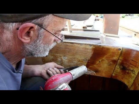 Stripping and Sanding Varnish