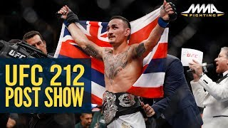 ufc 212 postfight show mma fighting