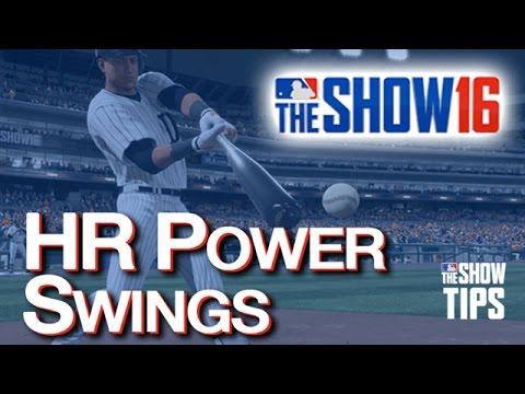 MLB The Show 16 - HOMERUNS Power Swings!