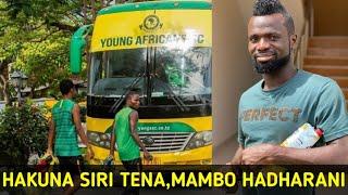 Hakuna Siri Tena! Mambo Yote ya Usumbufu wa Morisson Yanga Yamefahamika Bayana.