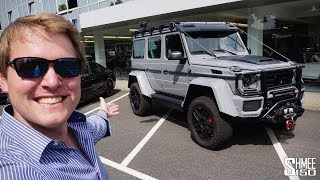 RIDICULOUS! The Brabus 550 Adventure 4x4^2 is a MONSTER