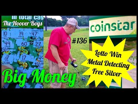 Lotto Win, Metal Detecting, Coinstar Silver Score! Big Money
