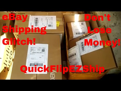 eBay FedEx USPS Shipping Glitch. Be Careful Not To Lose Money!