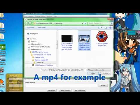 Merge any video type with subtitle and output as mkv without converting [Easy tutorial]
